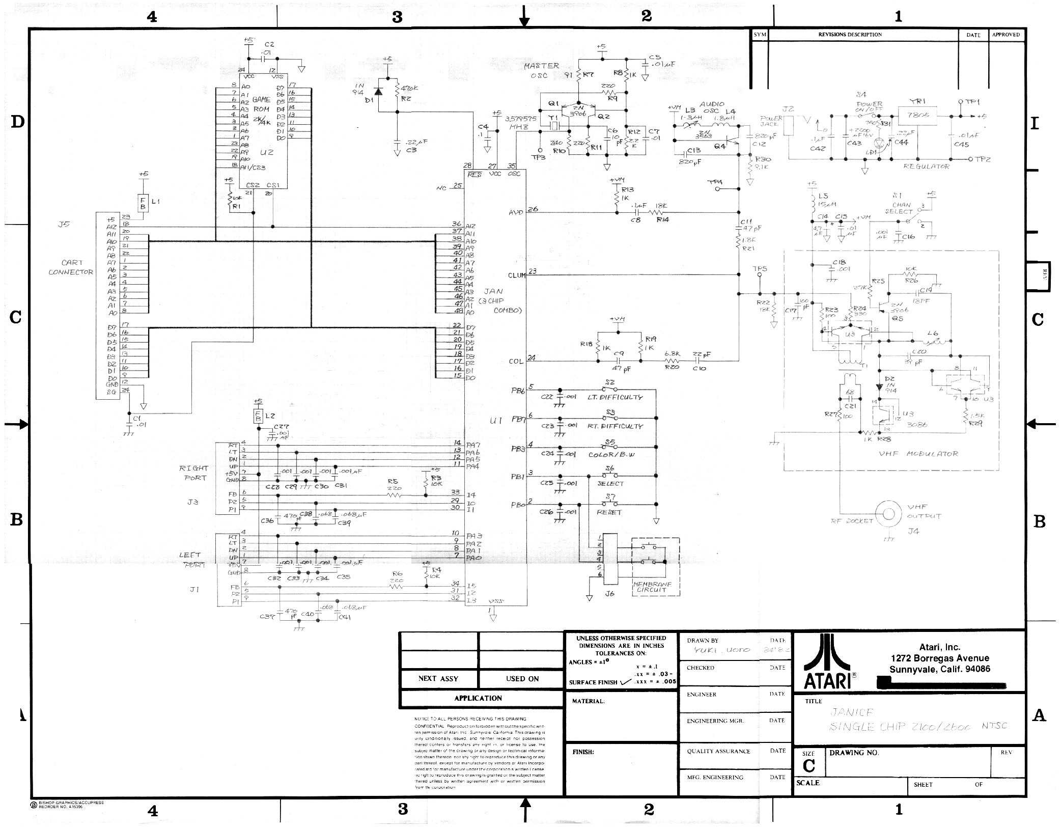 atari 2600 controller wiring diagram electrical wiring diagrams rh wiringforall today