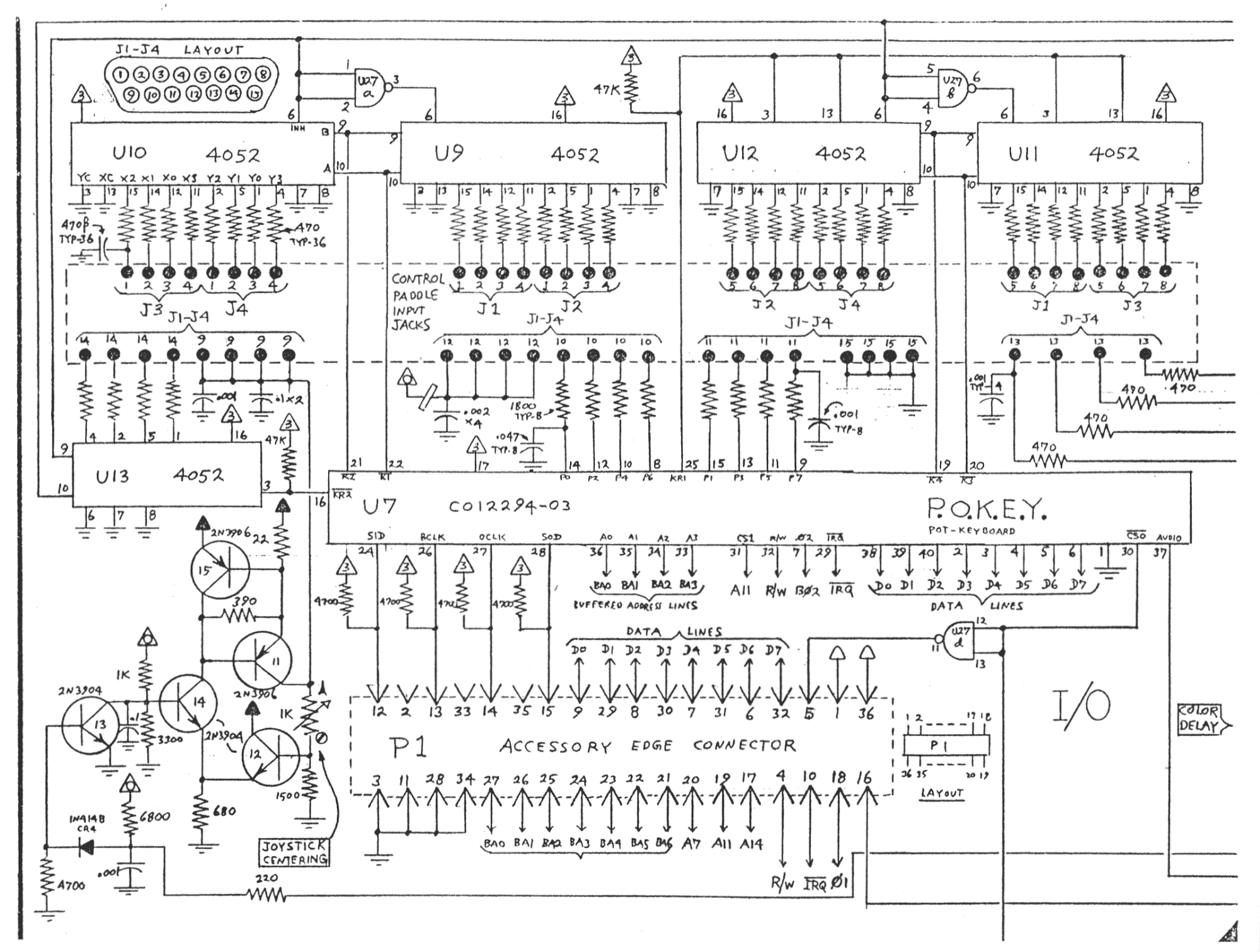 atari cx 80 wiring diagrams   27 wiring diagram images