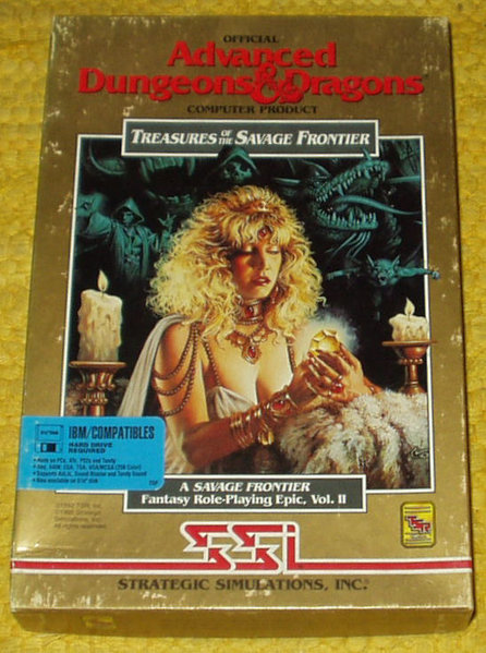IBM/MAC    - AD&D Treasures of the Savage Frontier - Room of