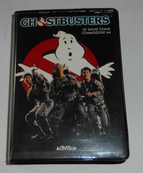 COMMODORE 128 COMPUTER (C64) - Ghostbusters - Room of Doom